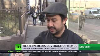 'Media biased while choosing stories'  Americans react to MSM silence about Mosul
