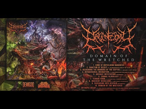 ORGANECTOMY - DOMAIN OF THE WRETCHED [OFFICIAL ALBUM STREAM] (2017) SW EXCLUSIVE