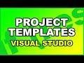 Creating Project Templates VSIX in Visual Studio