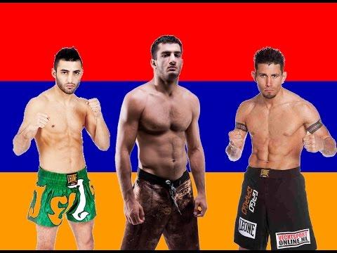 Армянские бойцы ММА и K 1 HL 2015