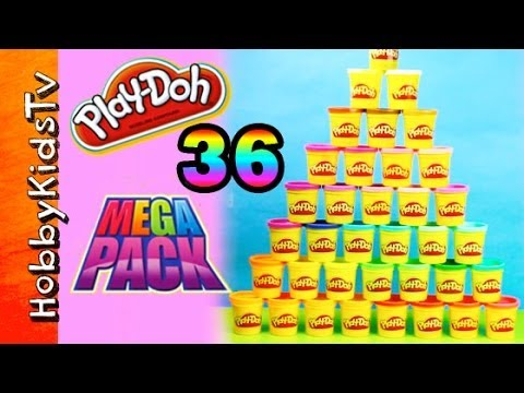 play-doh-mega-pack-36-cans-by-hasbro-box-opening-by-hobbykidstv