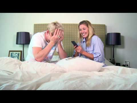 Caggie and Jamie play phone chicken!