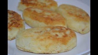 Картофельные пирожки с грибами!!! Очень вкусное блюдо!!!
