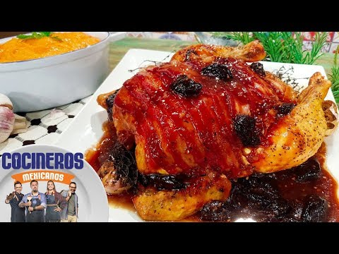 Receta: Pollo Con Salsa De Jerez Y Puré De Camote | Cocineros Mexicanos