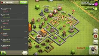 Fazendo batalha multijogador!!!(clash of clans)