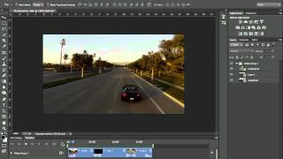 How to edit Video in Photoshop CC and CS6 | The Basics, Photoshop Tutorial(The basics of editing video in Photoshop that was shot on a GoPro Hero 3 on a DJI Phantom Quad copter. Also learn how to make video Black and White as well ..., 2013-09-09T00:06:50.000Z)