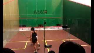 Rachael Grinham v Joey Chan - Buler Squash HK