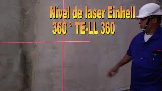 nvel de laser einhell 360 te ll