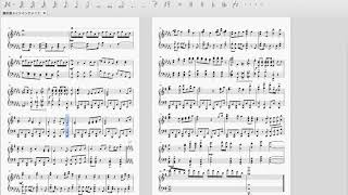 あまり慣れていませんが、耳コピでピアノアレンジしてみました。 セリフ...