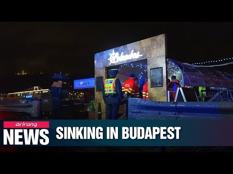 7 S. Koreans dead, 7 rescued, 19 missing in Hungary cruise boat sinking