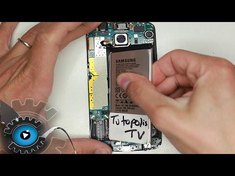 Samsung Galaxy S6 Akku Wechseln Tauschen unter 5 Minuten Reparieren [Deutsch]
