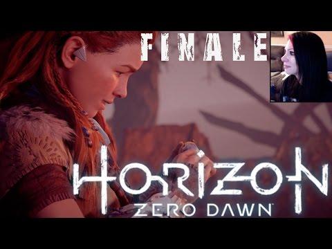 HORIZON ZERO DAWN WALKTHROUGH - ALOY & THE FACE OF EXTINCTION  - FINALE & AFTER CREDIT CUTSCENE