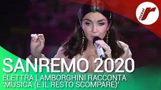 """Sanremo 2020, Elettra Lamborghini: """"Dopo due anni di musica sono già qua"""""""