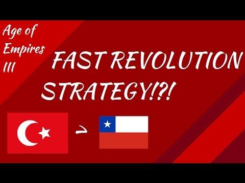 Fast Revolution Strategy?!? AoE III