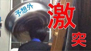 【お年玉】タライを頭上から落としたら奇跡がおきた!!!!!!!! thumbnail