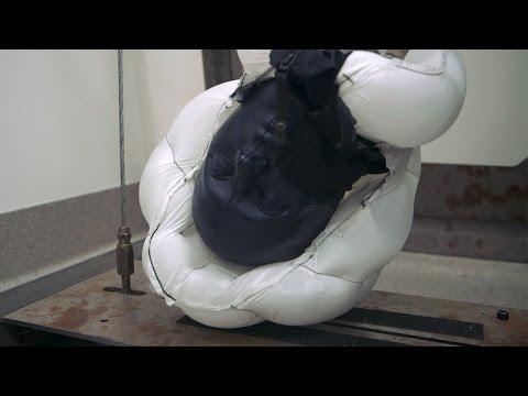 Bike helmet showdown: Stanford researchers test new airbag tech