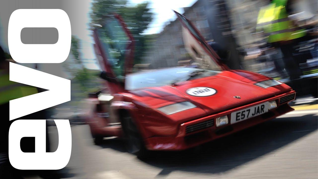 Lamborghini Countach 50th Anniversary Tour Evo Diaries Youtube