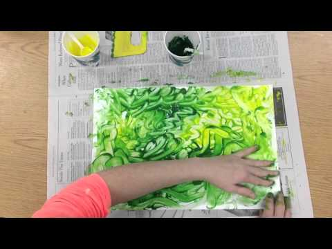 How to finger paint