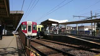 2年振りの名古屋線 近鉄5200系VX05+1259系 急行松阪行 江戸橋駅発車