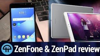 ASUS ZenFone 4 Max and ZenPad 3S 10 Reviews