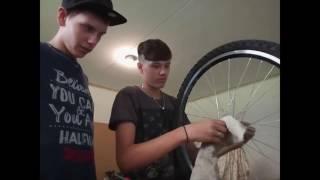 Vlog #2| oprava Eddiho kola | Svooby, Eddie
