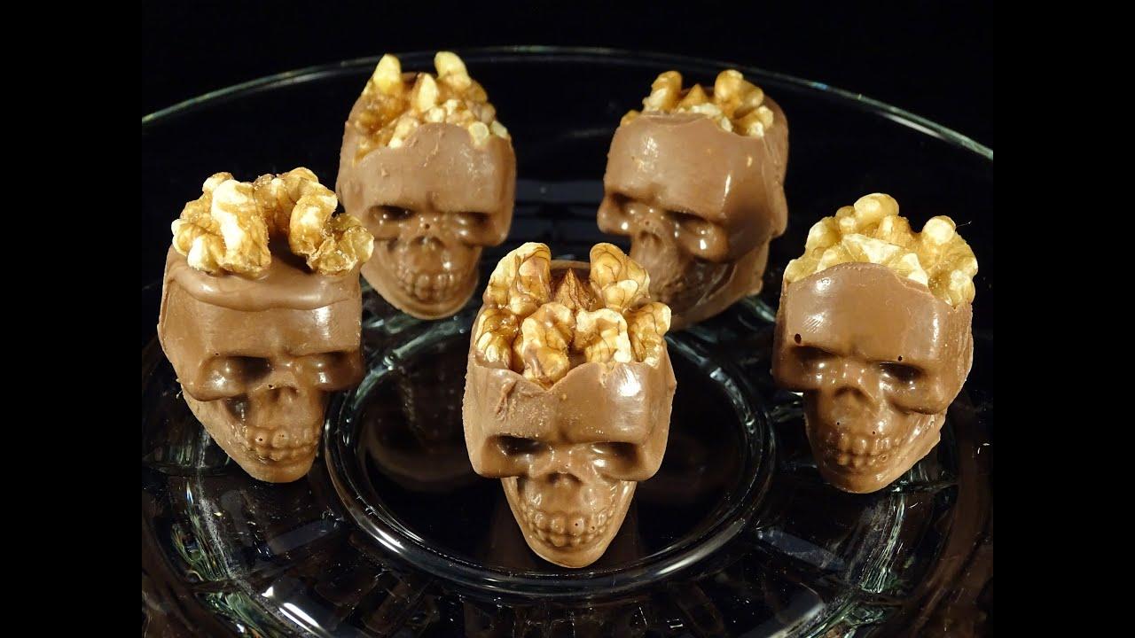 Skull Chocolate Candy
