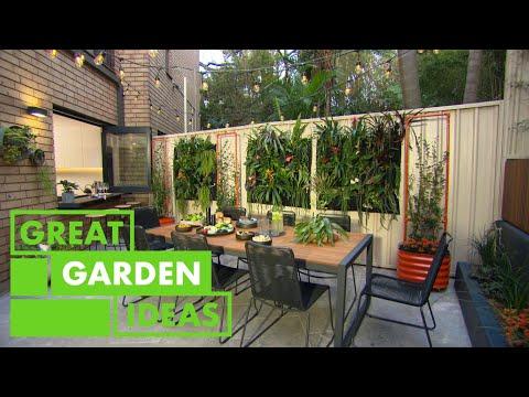 Renter-Friendly Courtyard Makeover   GARDEN   Great Home Ideas