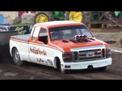 2016 Super Farm Tractor Pulls in Ballston Spa New York Saratoga County Fair