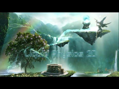 Liquid Physics 2D, Unity 3D asset Trailer 1