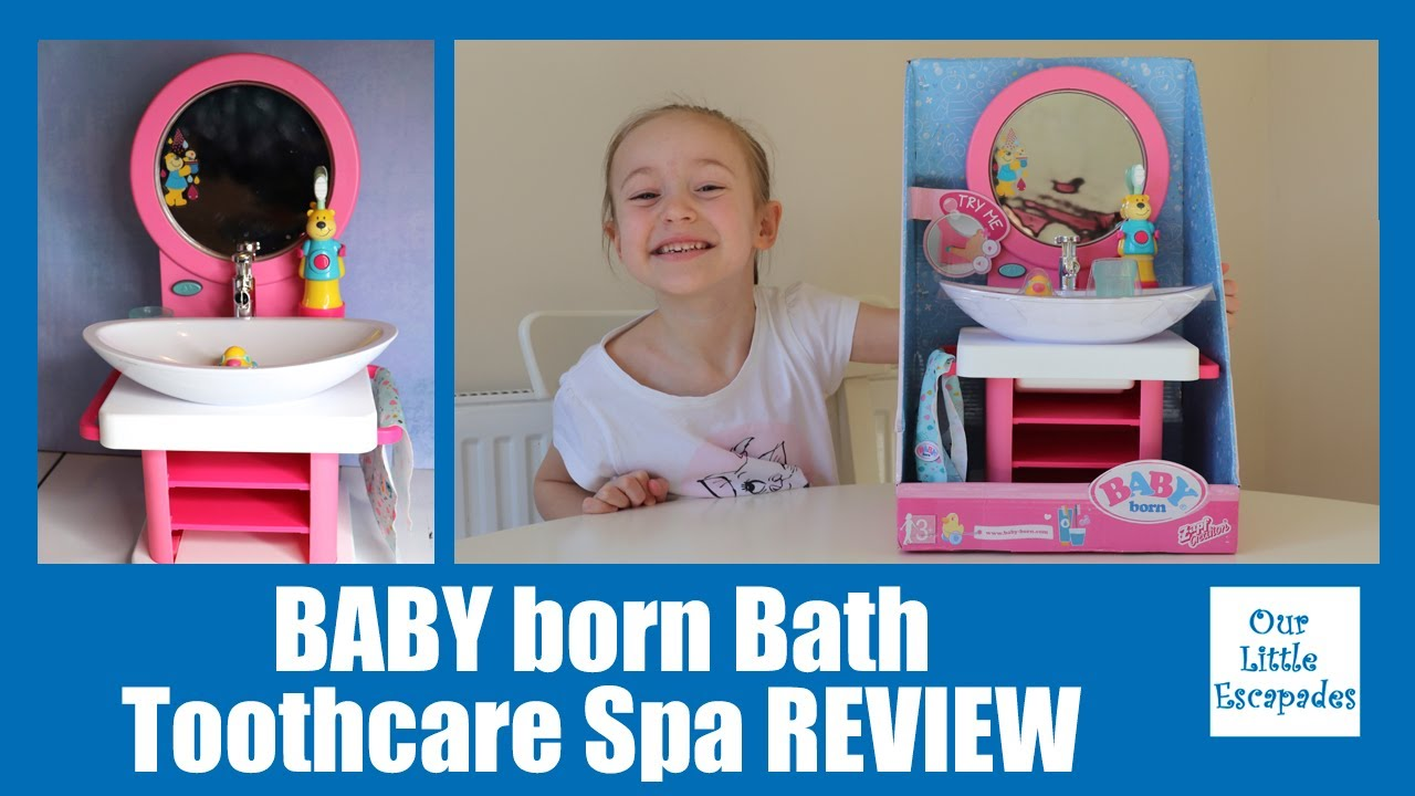 BABY born Bath Toothcare Spa REVIEW and Unboxing - BABY ...