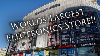 The Largest Electronics Store on Earth - Yodobashi Akiba
