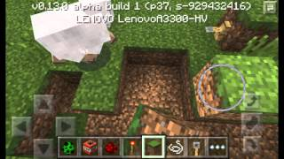 Minecraft PE 0.13.0 b1-Simple Trip Wire Hook Trap