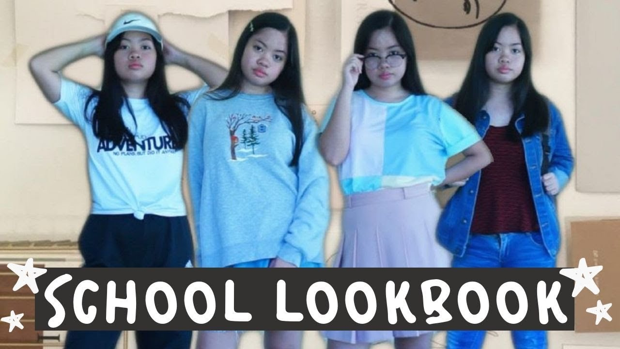 Back to School Outfit Ideas 2019 (Philippines) | Maria Ericka