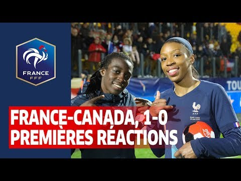 France-Canada Féminines (1-0) : premières réactions I FFF 2020