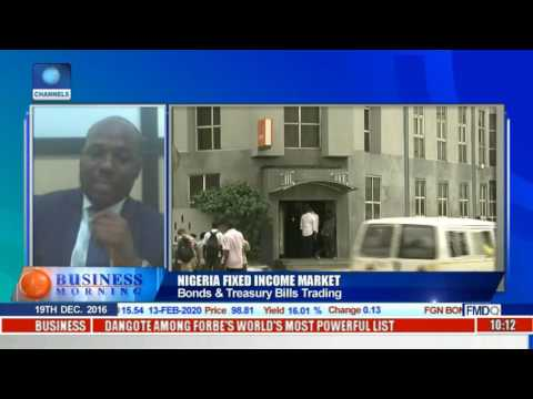 Business Morning: Discussing Bonds & Treasury Bill Trading