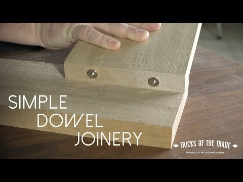 How To Use Dowel Centers | Tricks Of The Trade