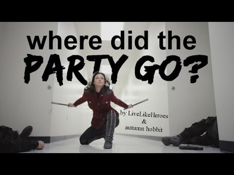 Marvel || Where Did the Party Go? (c/w Autumn Hobbit)