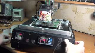 видео Купить инфракрасные паяльные станции для BGA микросхем