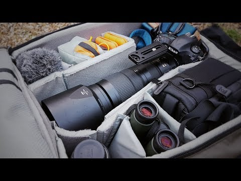 WHAT'S IN MY CAMERA BAG | How I pack my photo gear for wildlife photography in Scotland + GREAT HACK