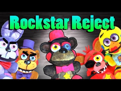 FNAF 6 Plush - Rockstar Reject (Ft. PokePasta and HAPPYBIZZ)