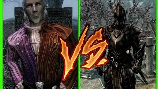 My own Sheogorath build vs Ebony warrior (LEGENDARY) -【 Skyrim Special Edition 】
