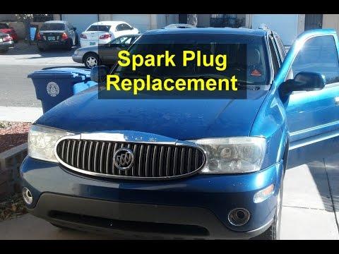 Tune Up, Spark Plug Replacement, Buick Rainier - VOTD