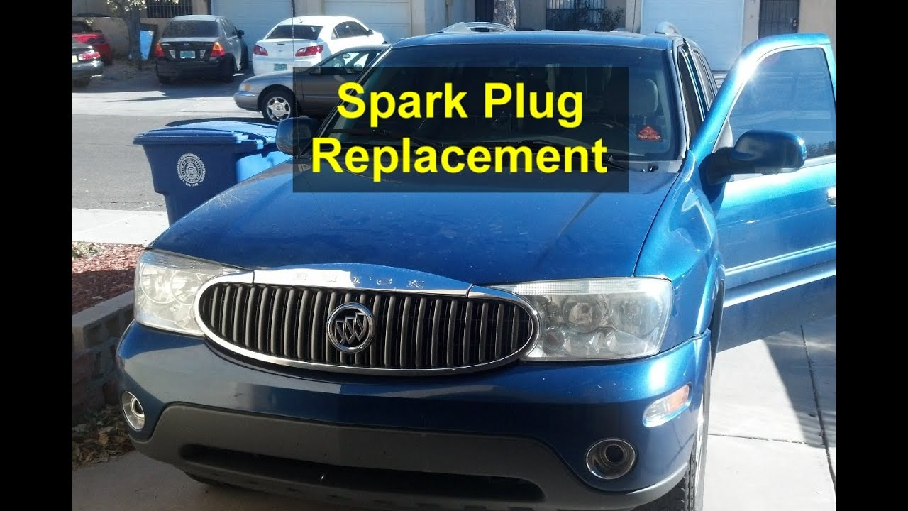 maxresdefault tune up, spark plug replacement, buick rainier votd youtube 2005 buick rainier wiring diagram at edmiracle.co