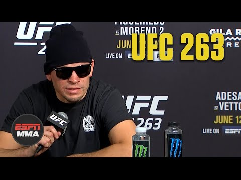 Nate Diaz talks loss to Leon Edwards at #UFC263, who he wants to fight next | ESPN MMA