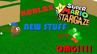 YOSHI & GOOMBARIO PLAYABLE IN SUPER MARIO STARGAZE!? | Roblox (SMS Twitter News)