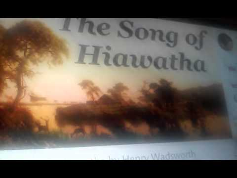 the song of hiawatha the peace pipe  the song of hiawatha the peace pipe