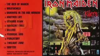 Iro̲n̲ Maid̲e̲n̲  - Kil̲l̲ers (Full Album) 1981