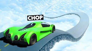 CHOP FOUND A SECRET ROAD TO HEAVEN RACE IN GTA 5