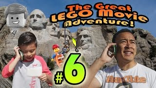 The GREAT LEGO MOVIE ADVENTURE! Episode 6 - MOUNT RUSHMORE