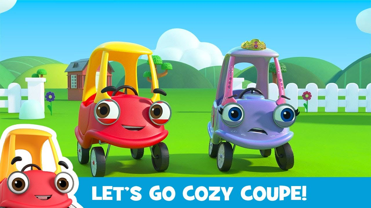 Download Oh no, Firetruck's Stuck in the River! Cozy Coupe - Cartoons for Kids